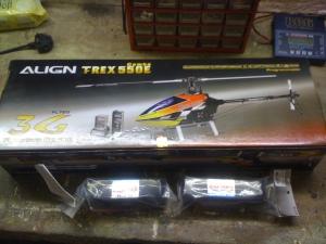 T-Rex 550E 3G