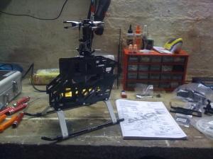 T-Rex 500 build photo #1