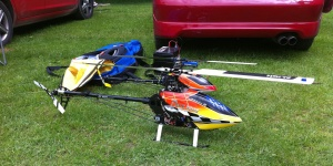 Weekend Flying with T-Rex 550 and Protos